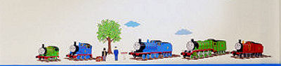 Thomas the Tank Engine Nursery Wall Decals