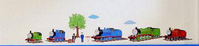 Thomas the Tank Engine Nursery Wall Decals