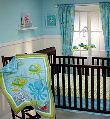 Mod Turtle Crib Bedding
