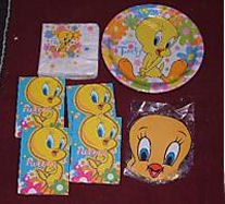 tweety baby shower party supplies favors