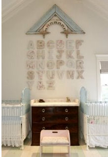 vintage abc alphabet vintage nursery for twin boys and girls theme picture ideas