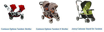 Top Twin Double Tandem Baby Strollers