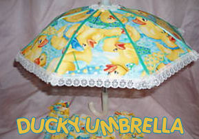 yellow rubber duck ducky umbrella baby shower party decorations