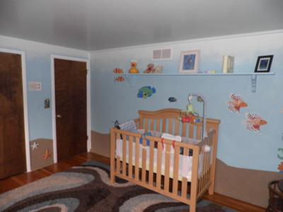 Baby Nursery Ocean Theme On Under The Sea Ideas In Blue With