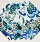 vera bradley baby blue white quilt squares fabric