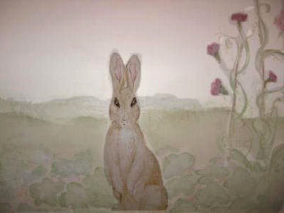 Vintage Peter Rabbit Mural By Jill, Antiquity Designs Atlanta Part 79