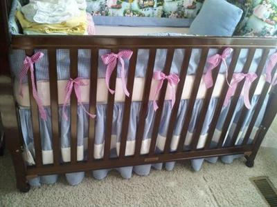 Custom Wizard of Oz baby Bedding set.