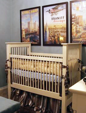 World Travel Nursery Ideas In Gender Neutral Colors