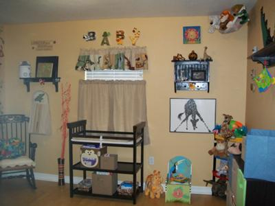 No details are left out of our baby boy's Wild Jungle Wonderland nursery!