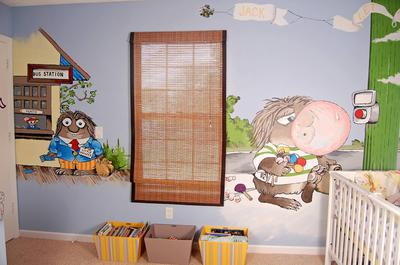 Where the Wild Things Are Wall Murals Paintings