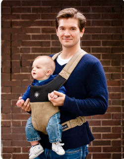 The guys love Belle Baby Carriers as much as the ladies!