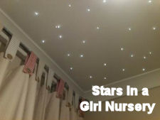 fiber optic baby nursery ceiling lights twinkle like stars baby room lighting ceiling