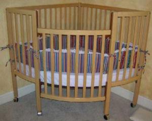 Trilogy Corner Baby Crib