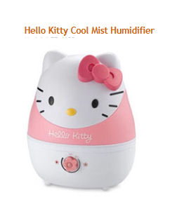 Baby Girl Pink and White Hello Kitty Nursery Humidifier