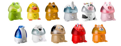 Crane Adorable Animals Cool-Mist Humidifiers