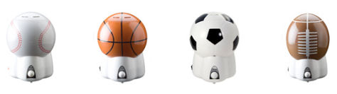 Crane Cool-Mist Sports Theme Humidifiers are idea for a baby boy's nursery or an older boy's bedroom