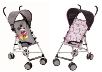 Disney Mickey Mouse Minnie Mouse Lightweight Umbrella Baby Stroller