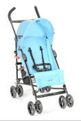 Maclaren Twin Techno Lightweight Double Twin Umbrella Baby Stroller Mandarin Orange and Gray