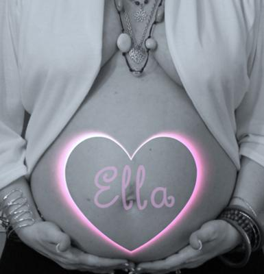 Maternity Portrait 28 weeks pregnant. Our baby girl Princess Ella Claire and Mommie are doing fine.
