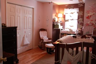 Butterfly baby girl nursery room tour