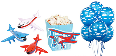 Vintage airplane baby shower ideas decorations and party supplies