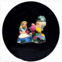 alice in wonderland baby shower cake topper vintage collectible figurines