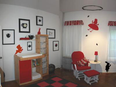 Alice In Wonderland Baby Nursery Decor Decorating Ideas Pictures