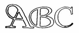 Large free printable abc alphabet wall stencil letters for initial monograms lettering scrapbooking names