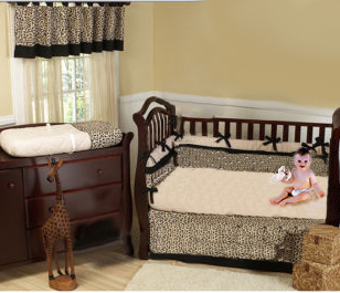 animal print baby bedding crib nursery pictures leopard cheetah