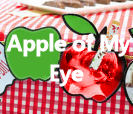 Apple of my eye baby shower theme decorations ideas