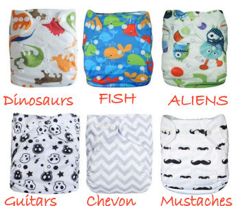 cotton baby diaper covers set