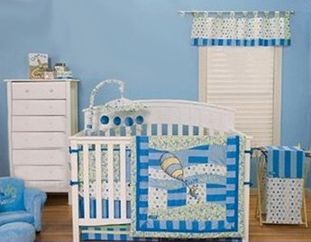 Oh the Places You'll Go baby Dr Seuss nursery decorating ideas