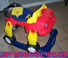 baby renegade jeep baby walker jumper
