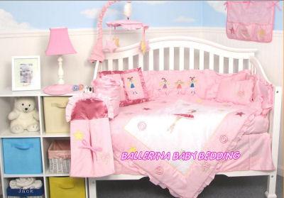 fairy ballerina baby crib nursery bedding sets
