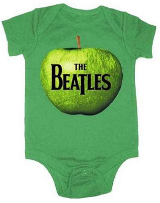 Apple Green Baby Beatles Onesie Romper Outfit