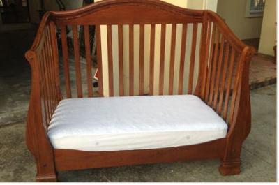 Bella D Este 4 in 1 Convertible Crib