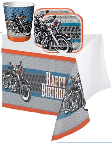 Motorcycle baby shower biker party ideas