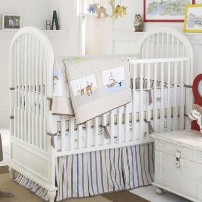 Blue and brown baby boy nursery decorating ideas