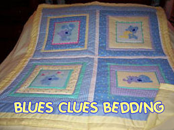 blues clues quilt nursery bedding crib set
