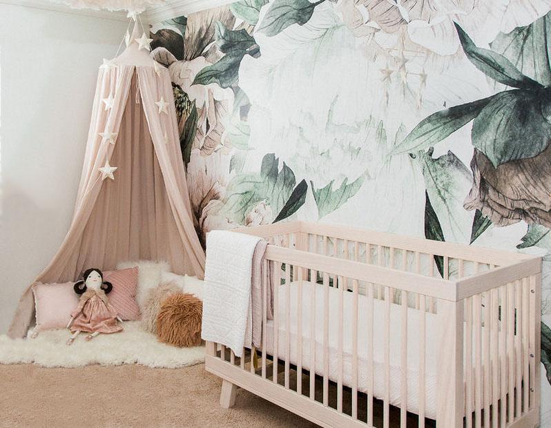 Dark Green Baby Nursery Ideas