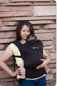 Boba Organic Baby Carrier in Walnut Brown