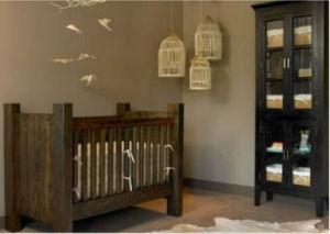 Rustic masculine baby boy nursery theme ideas
