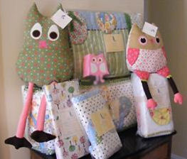 vintage pink green white aqua blue and white baby girl owl crib bedding nursery set