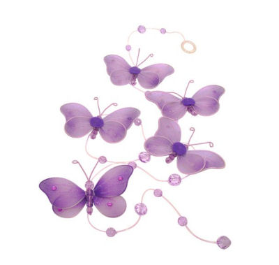 Butterfly party or baby shower decorations