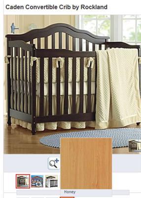 Caden Convertible Crib by Rockland
