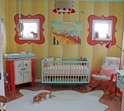 Full Shot of Nursery