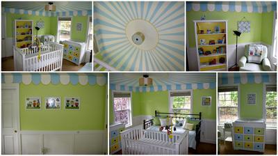 Baby Boy Circus Nursery