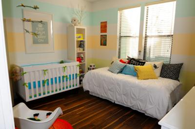 Bright and Cheery Colors Bring a Baby Boy's Room to Life!