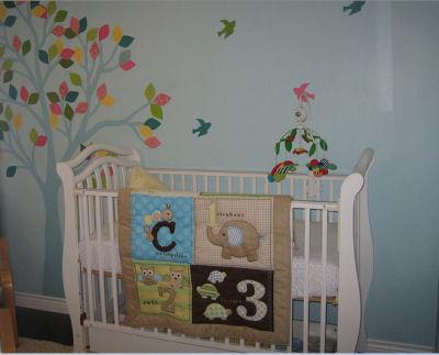 Piper's Colorful Bird Nursery Theme