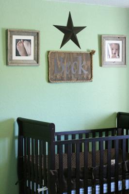 Classy Cowboy Lone Star Baby Nursery Wall Decor